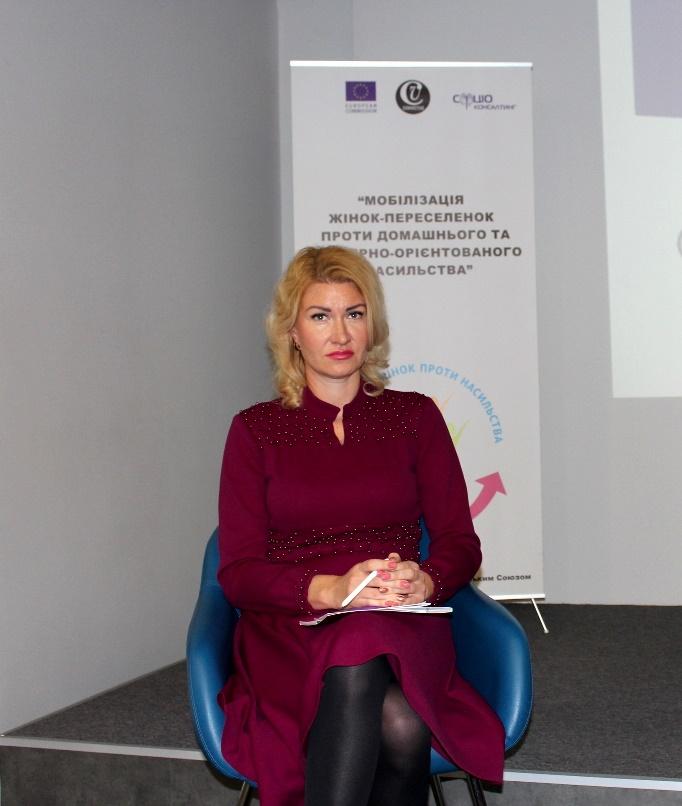 конференція Мобілізація жінок-переселенок проти домашнього та гендерно-орієнтованого насильства-